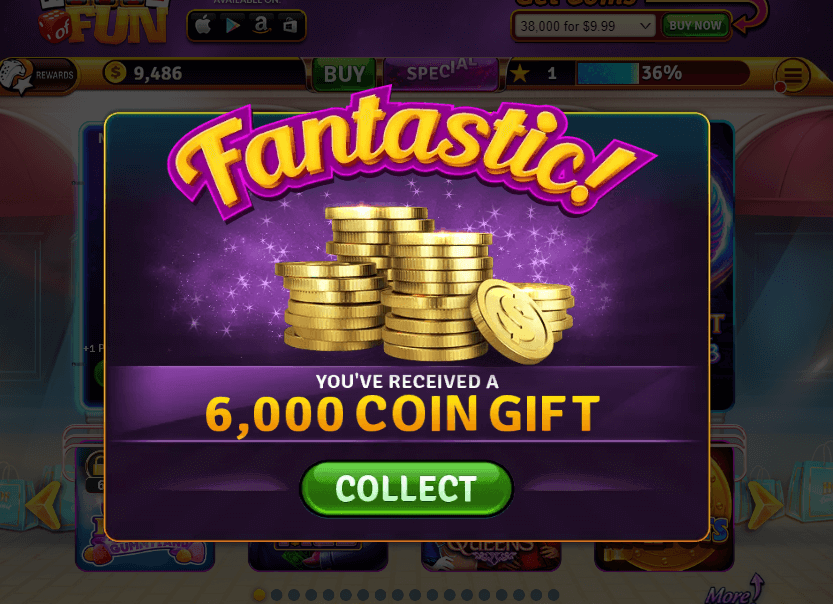 Free Coins On House Of Fun